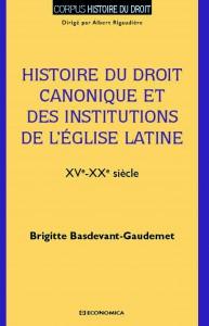 histoire droit canonique